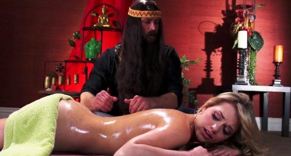 Sesja masażowa z Indianinem