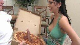 Chłopak z pizzerii zrobił jej żart